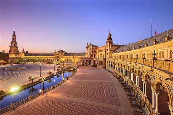 قصر پلازا دی اسپانیا در شهر سوییا اسپانیا