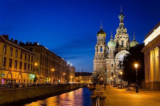 کلیسای نجات بخش در چرخه خون، شهر سنت پترزبورگ روسیه