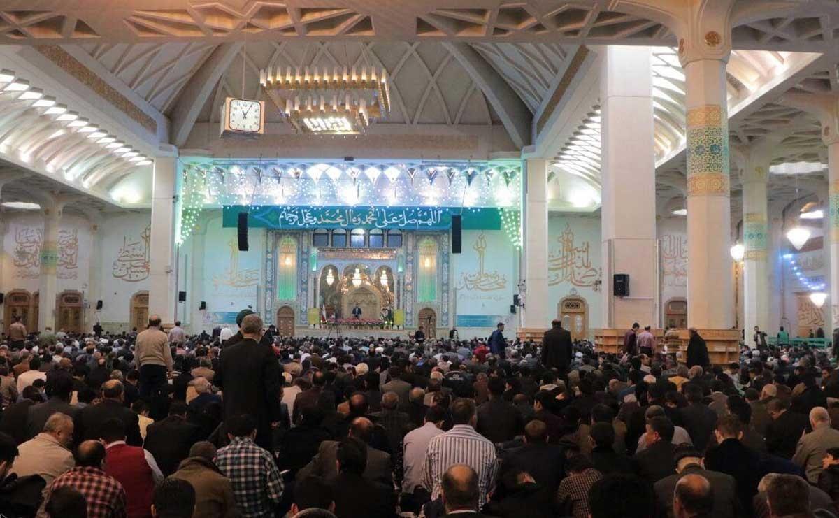 مراسم تحویل سال نو در حرم حضرت معصومه (س)