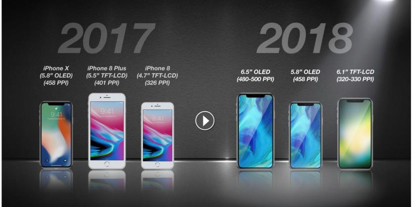 این ۳ گوشی را اپل در سال ۲۰۱۸ میسازد +عکس