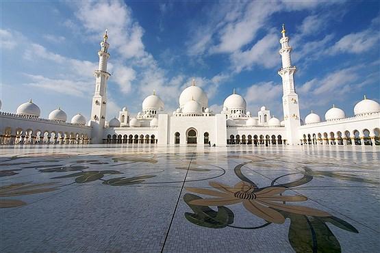 مسجد جامع شیخ زاید در ابوظبی – امارات متحده عربی