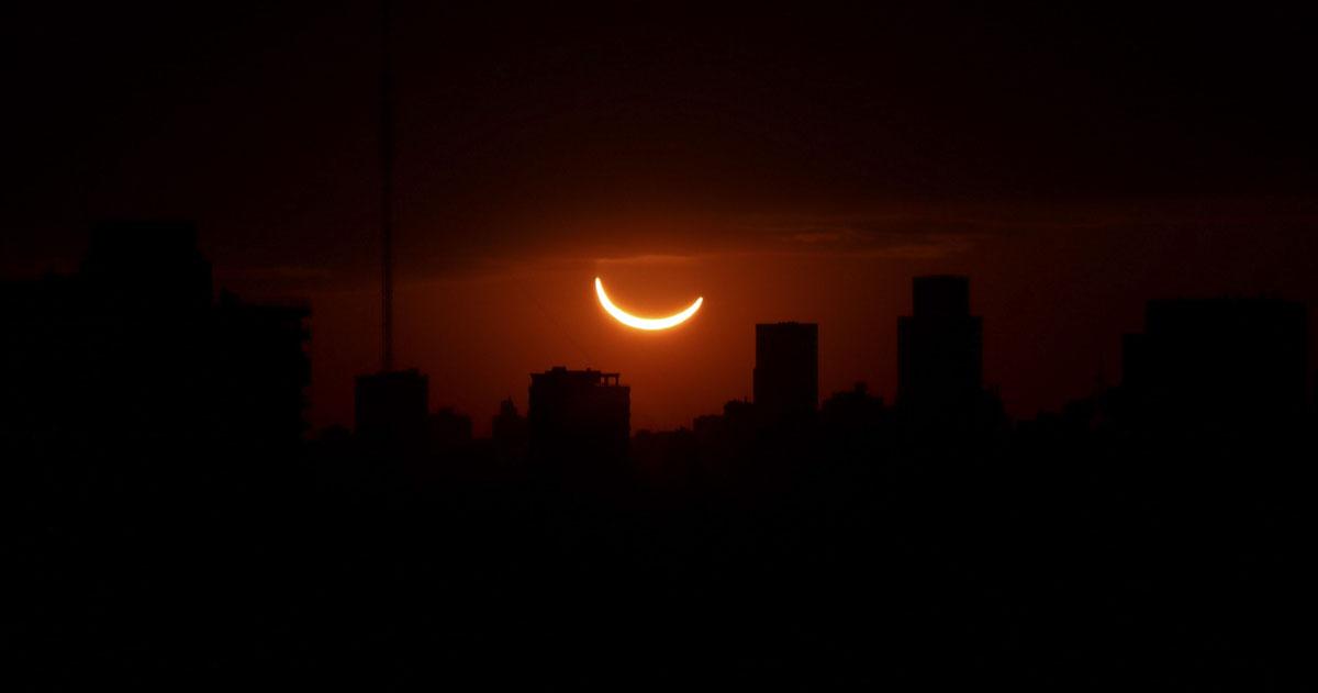 خورشیدگرفتگی در آمریکای لاتین