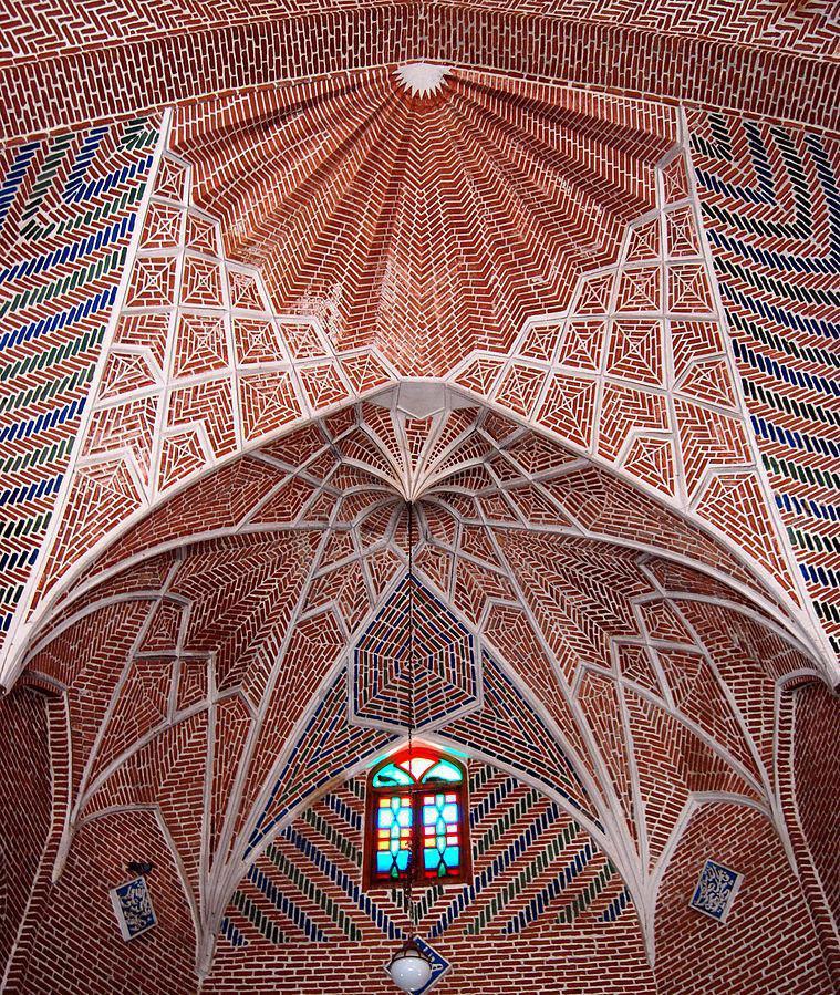 بنای معماری بزرگ در حریق