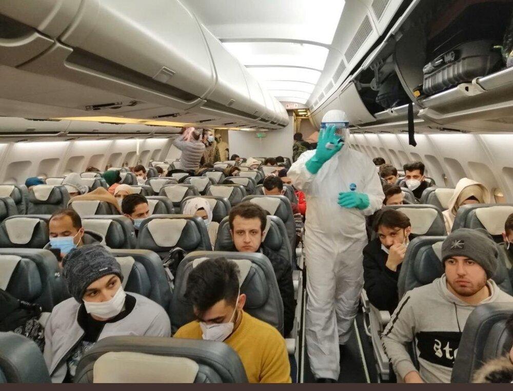 هواپیمای حامل ایرانی ها