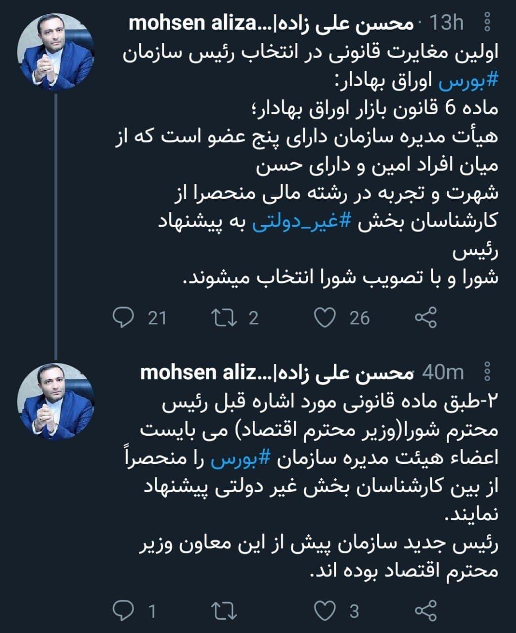 محسن علیزاده