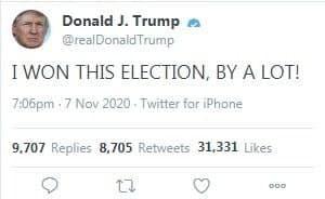 توییت عجیب دونالد ترامپ