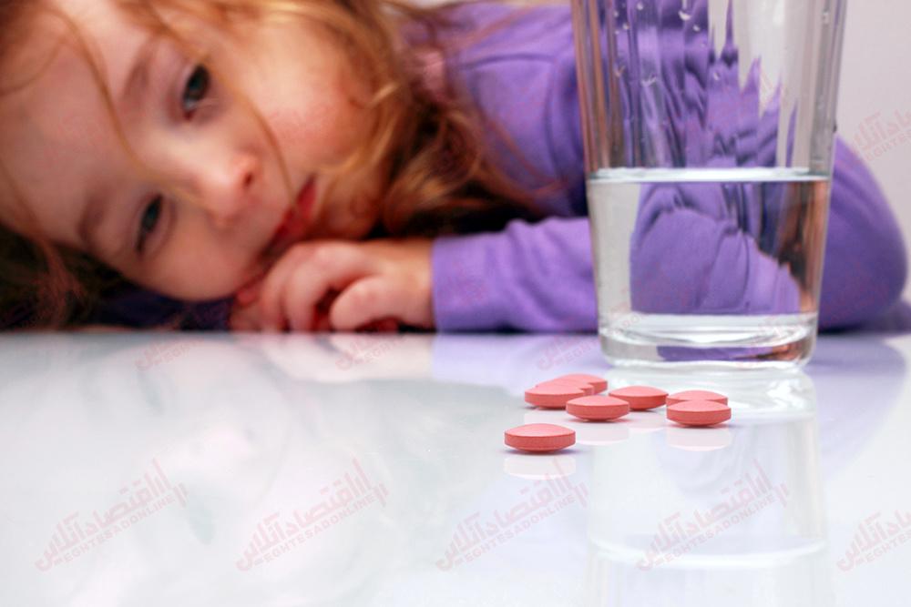 مصرف قرص+ کودک