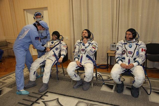 لباس فضانوردان