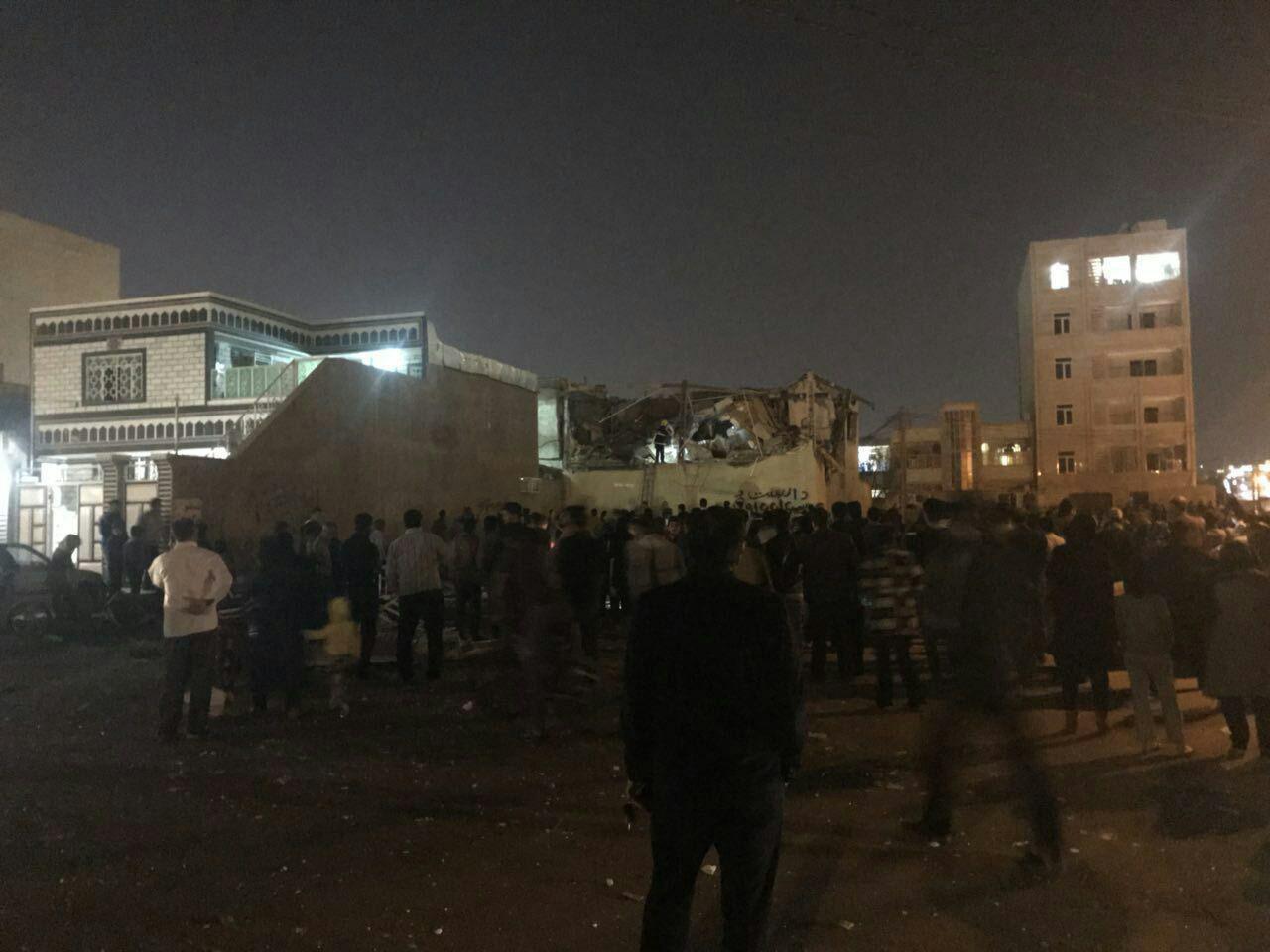 انفجار ساختمان