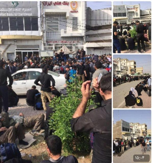 پایگاه خبری آرمان اقتصادی 57768755 دردسر دیناری زائران ایرانی در عراق +عکس