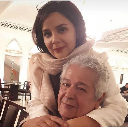 رضا فیاضی و دخترش