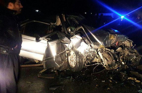 هشت نفر در سوانح جادهای کرمانشاه جان سپردند