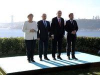 آغاز نشست ۴جانبه استانبول درباره سوریه +عکس