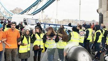 اعتراضات فرانسه به انگلیس رسید