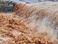 خسارات سیل خرمآباد همزمان با موج دوم بارشها +تصاویر