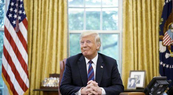 ادعای ترامپ: چشم ایران به دموکرات هاست!