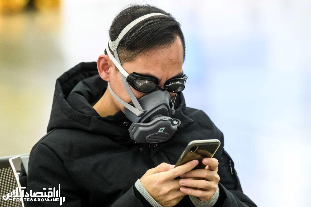 ماسک عجیب