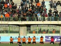 زانو زدن برابر هواداران! +عکس