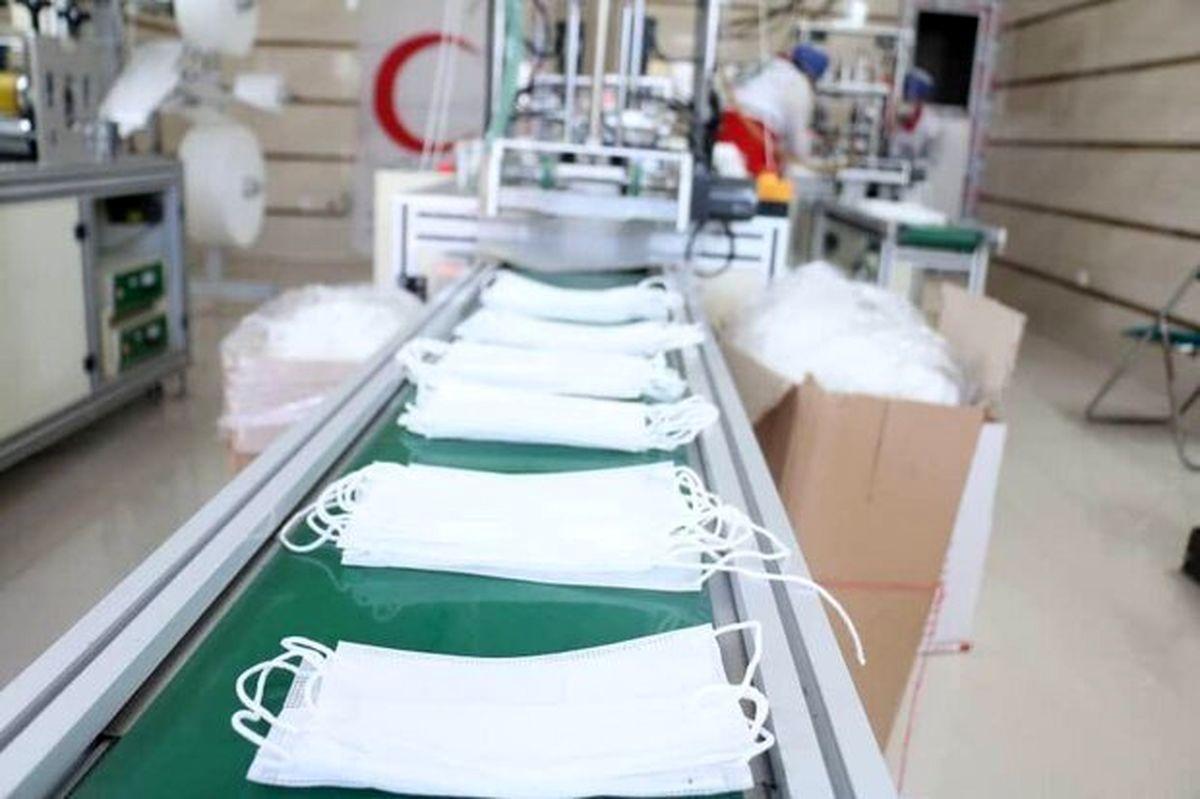 سهمیه مواد اولیه تولیدکنندگان خاطی ماسک قطع شد