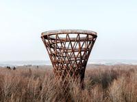 با برج مارپیچی دانمارک آشنا شوید +عکس