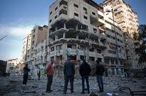 بمباران وحشیانه غزه توسط رژیم صهیونیستی +فیلم