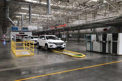 گزارش تصویری اختصاصی اقتصادآنلاین از خط تولید خودروهای هاوال