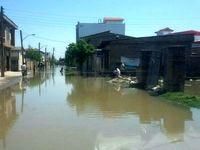 سیطره دوباره سیلاب بر ۳۰درصد آققلا/ گسیل امکانات برای مهار سیل