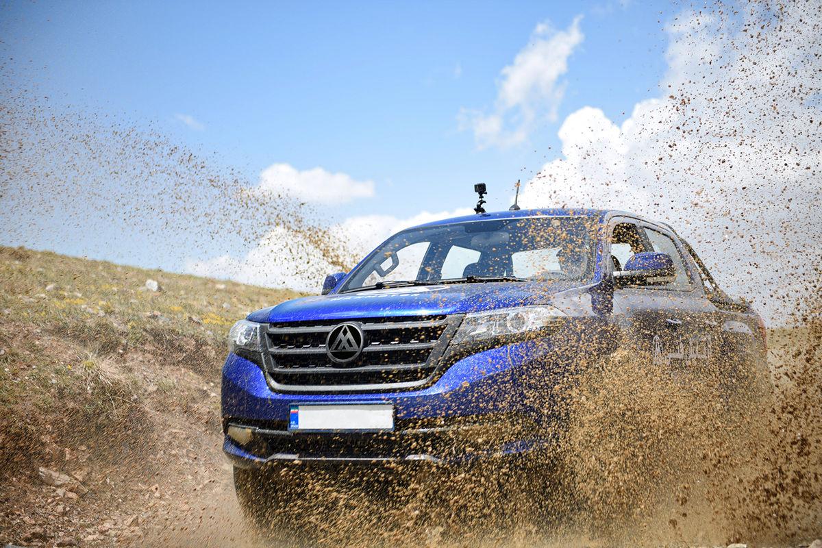 دایونV5، پیکاپ جدید بازار خودرو + تصاویر