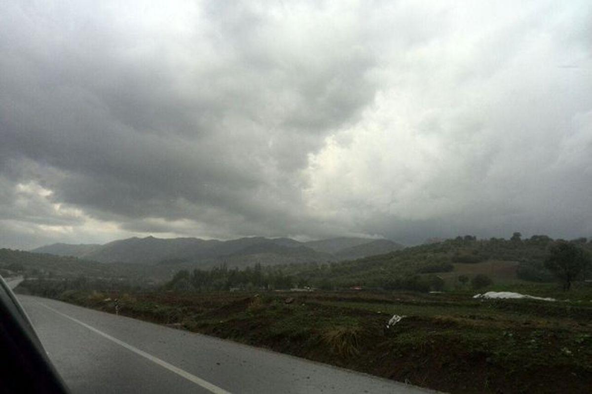 ادامه بارندگیها در کشور