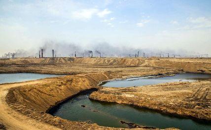 کورههای آجرپزی در نهروان عراق +عکس