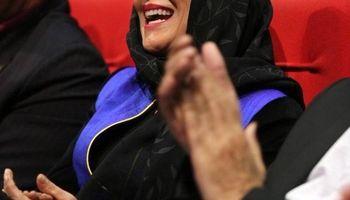 خنده فاطمه معتمدآریا در افتتاحیه جشنواره فجر +عکس