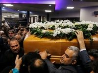 تدفین پیکر رییس فقید سازمان تامین اجتماعی در حرم عبدالعظیم حسنی