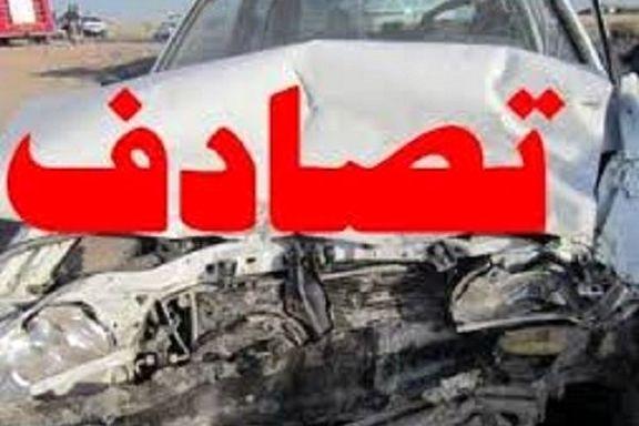 چهار کشته در تصادف رانندگی