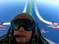 نمایش دیدنی جنگندههای چین +تصاویر