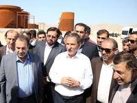 جهانگیری از طرحهای انرژی و صنعتی جنوب فارس بازدید کرد