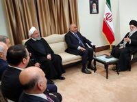 دیدار نخست وزیر عراق با رهبر انقلاب +تصاویر