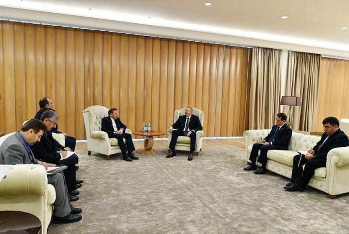 واعظی با رییس جمهور آذربایجان دیدار کرد