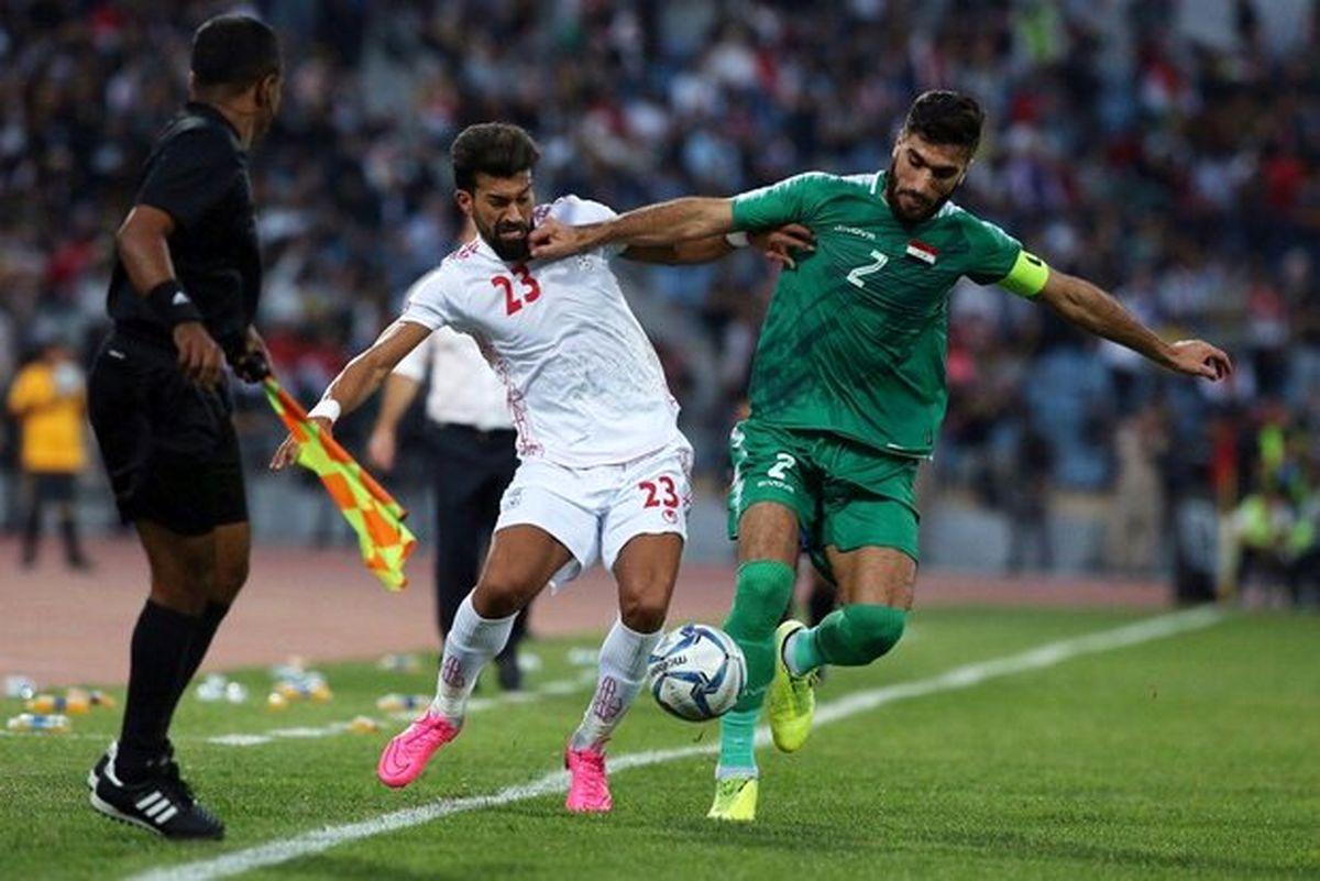 درجا زدن تیم ملی فوتبال ایران در جهان
