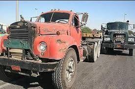جولان کامیون 50 ساله 200 میلیون تومانی در جادهها