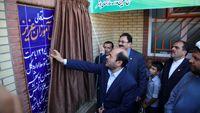 افتتاح مدرسه شهدای بانک تجارت در شهرستان کاکی