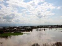 تصاویر هوایی از آخرین وضعیت مناطق سیل زده گلستان