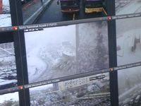 مسدود شدن دو خط اتوبوسرانی بر اثر بارش برف/ کمبود اتوبوس نداریم