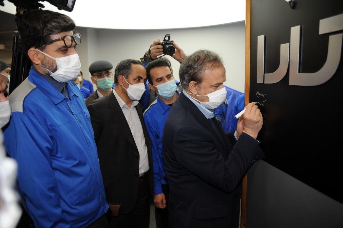 وزیر صمت، نام محصول جدید ایرانخودرو را اعلام کرد
