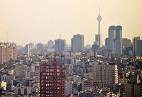آلودگی هوا مهمان آسمان برخی استانها
