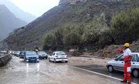گزارش پلیس از بارندگی و مه گرفتگی در ۲۰استان کشور