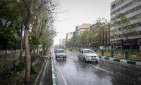 روز تگرگی در تهران! +عکس