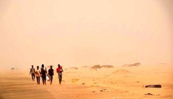 قحطیزدگان اتیوپی در راه عربستان +تصاویر