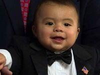 پسر 7ماهه شهردار شد! +عکس