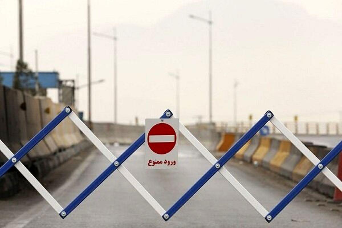 ورودی های استان گیلان مسدود شد