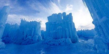پارک یخی در کانادا